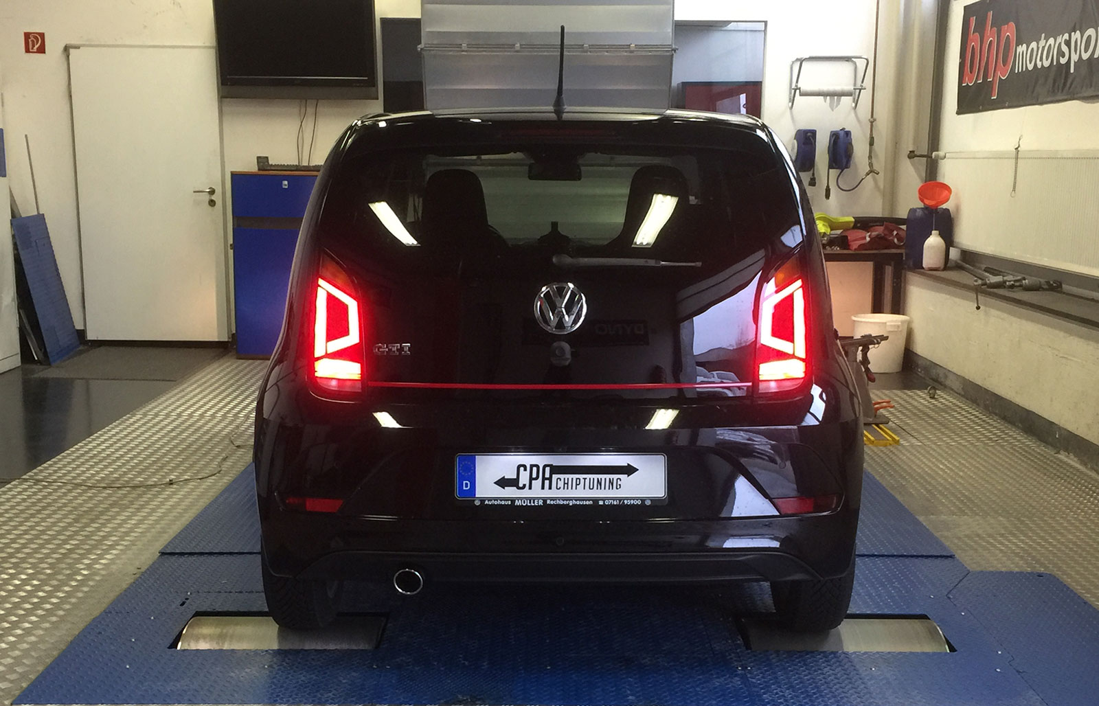Chiptuning i VW UP GTI