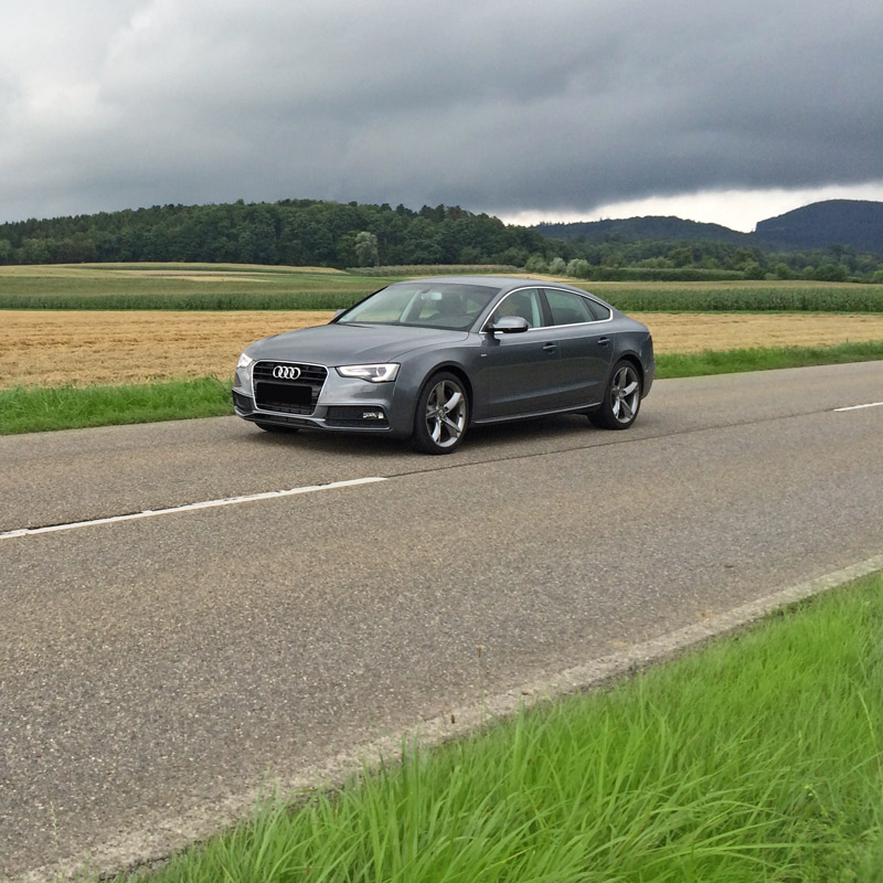 Audi A5 1.8 TFSI med Power box från CPA Chiptuning