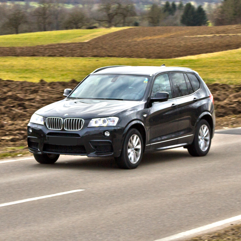 Kör test av  BMW X3 xDrive35d